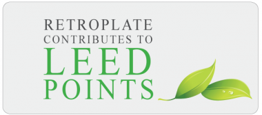 Retroplate Contributes to LEED Points
