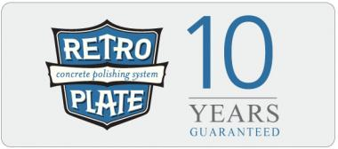Retroplate Warranty - 10 Years Guaranteed