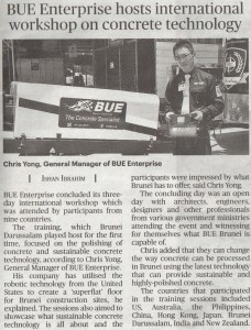 BUE Brunei Newspaper 3-2015